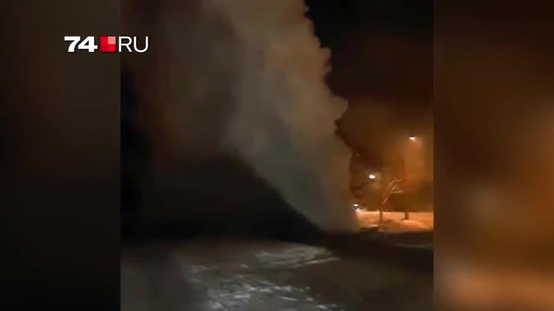Отличный фонтан в Челябинске Сурово