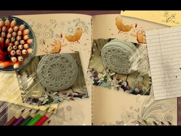 How to crochet a vintage circular handbags part 13 - Hướng dẫn móc túi tròn phần 13