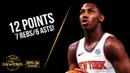 RJ Barrett Full Highlights 2019 10 16 Hawks vs Knicks 12 Pts 7 Rebs 6 Asts FreeDawkins