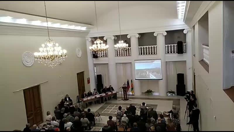 Годовой отчёт главы МО Город Пикалёво и главы администрации МО Город Пикалево