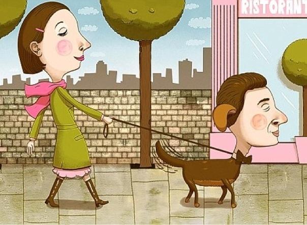 Он не кусается Утро воскресенья, небольшой пустырь, на углу гуляет дама с лохматой собакой неопределенней породы. На противоположном углу пустыря появляется парочка - крепкий парень и