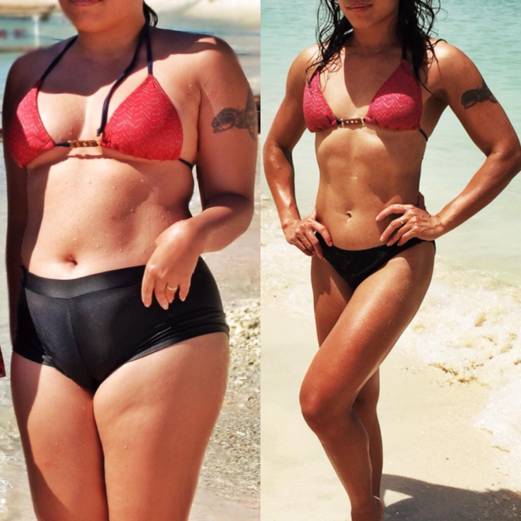 Примеры Похудения Девушек Фото. «До и После» похудения: 30 впечатляющих фото