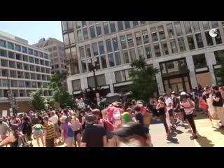Протесты в Вашингтоне из-за смерти Джорджа Флойда