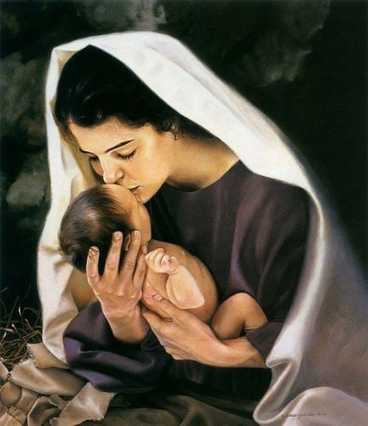 ДВЕ МАМИНЫ МОЛИТВЫ - O ДOЧЕРИ И СЫНE МОЛИТВА О ДОЧЕРИ Молю тебя, о Дева Пресвятая, Даруй здоровье доченьке моей. Ты ведаешь, о чём душа мечтает Дай в жизни ей побольше ясных дней! Прошу ей
