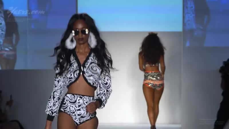 Angel Brinks Resort Swimwear Bikini Fashion Show SS 2018 Miami Swim Week 2017 HD
