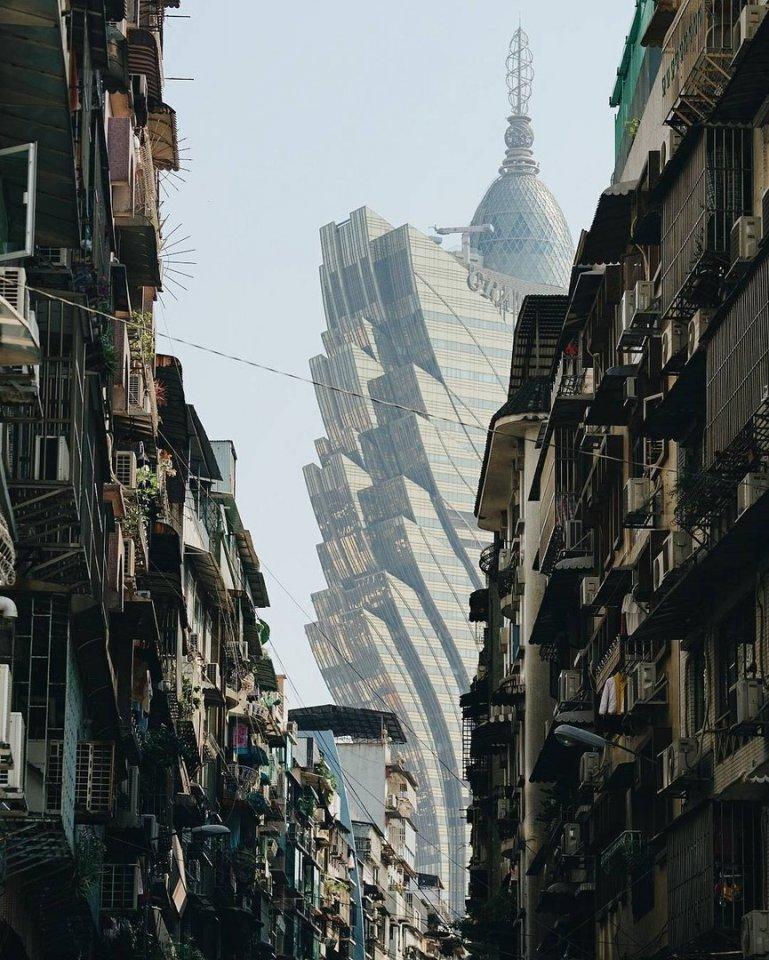 Городские контрасты. Макао, Китай