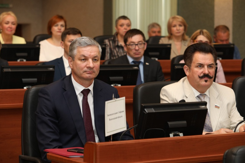 5 инициатив вологодских парламентариев поддержали на заседании ПАСЗР