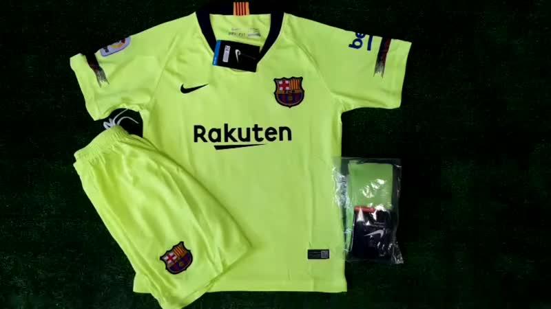 Гостевая детская форма ФК Барселона 1819