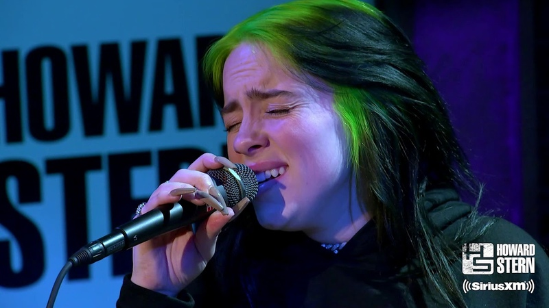 """Billie Eilish """"When the Party's Over"""" Live on the Howard Stern Show"""