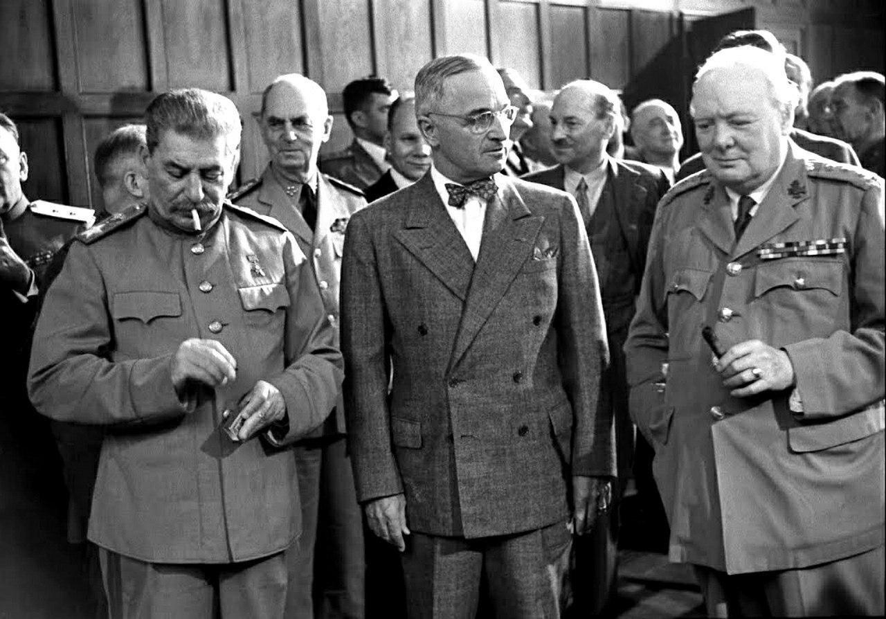 Пocлeдняя встреча «большой тройки». Cталин, Трумэн и...