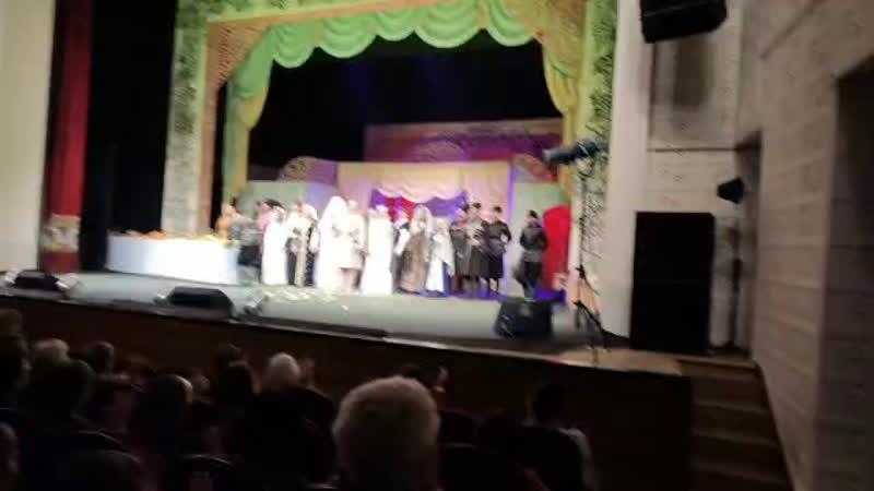 Вот наши первые аплодисменты в Комсомольске-на-Амуре! Браво, дорогие