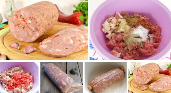 Колбаса ветчинная особая с паприкой