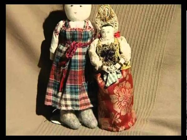 Ремесло 34: Тряпичные куклы Маши Дмитривой