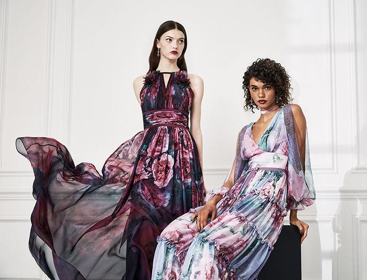 Маркиза драмы: модная коллекция Marchesa Notte осень 2019