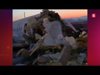 Подробности крушения самолета авиакомпании Bek Air в Казахстане