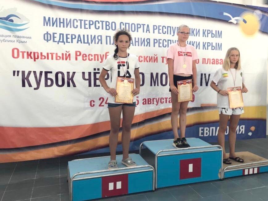 Дубненская пловчиха Милена Веселова – серебряный призер Кубка Черного моря