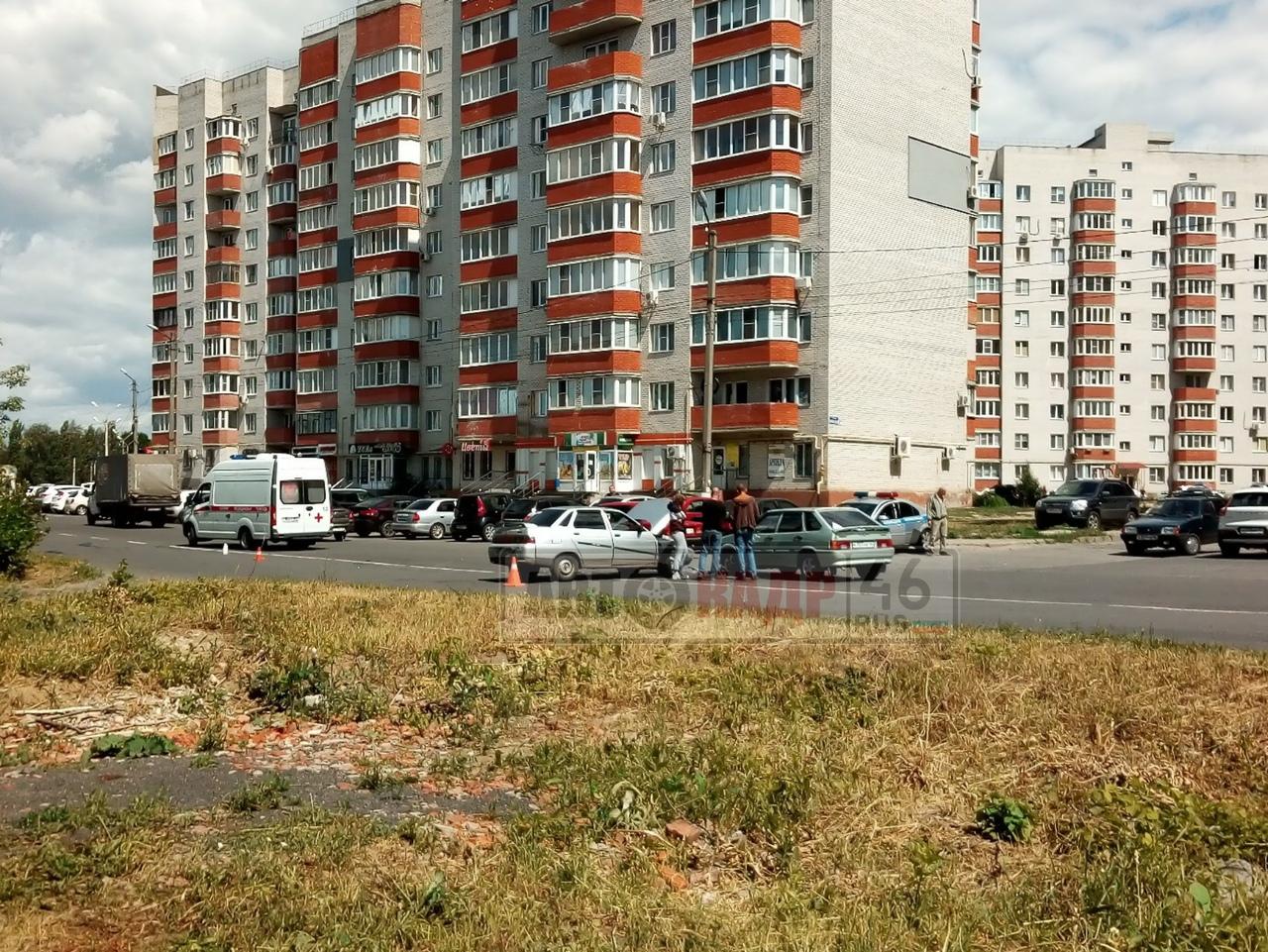 На выходных в Курске в ДТП пострадали трое детей