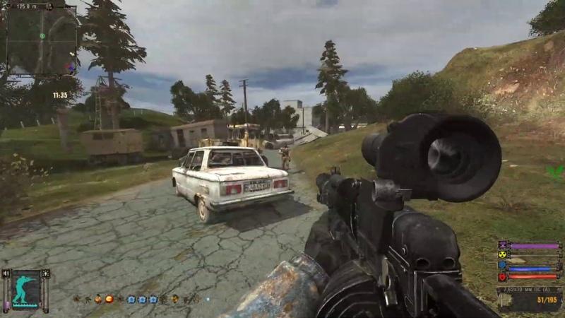 Прохождение С.Т.А.Л.К.Е.Р - OGSR Mod 4 Серия
