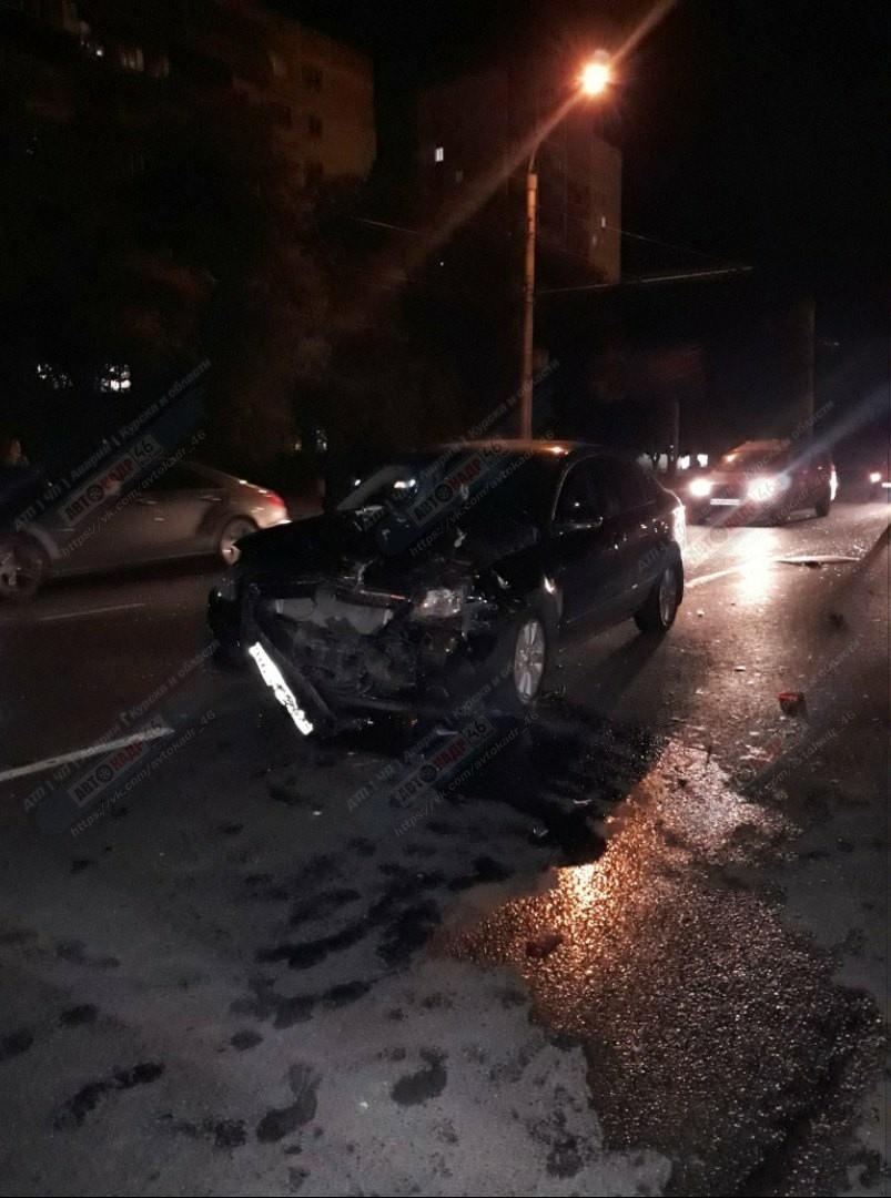 В двух авариях на курских дорогах пострадали школьники