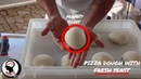 HOW TO MAKE PIZZA DOUGH WITH FRESH YEAST part 1 for home