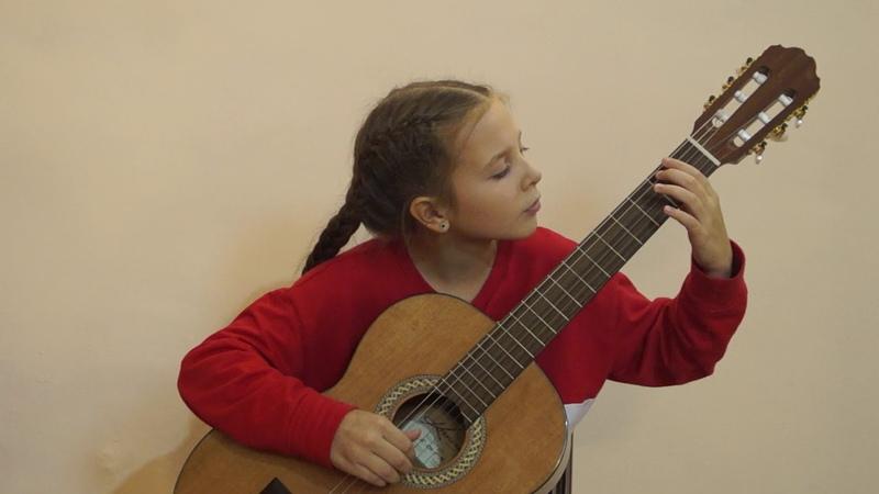 В контакте с гитарой Глазова Алена