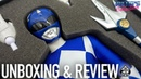 Blue Ranger Mighty Morphin Power Rangers 1 6 Scale Figure Ace Toyz Unboxing Review