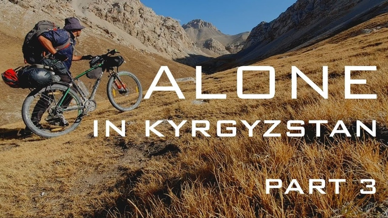 Winter Bikepacking - ALONE IN KYRGYZSTAN film (Part 33)