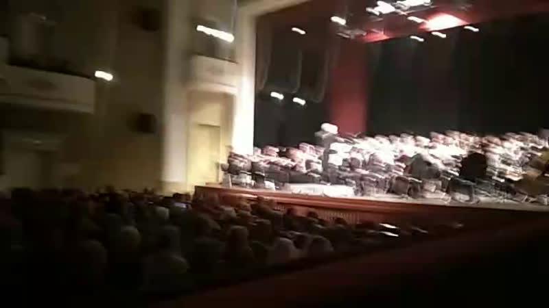 Концерт в МГУ к 60-летию Мирзы Аскерова и 30-летию его работы с Академ хором