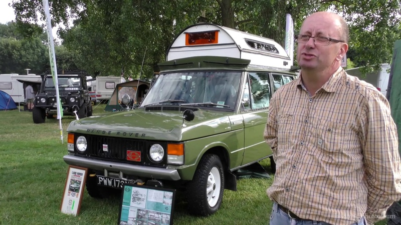 The Range Rover Classic Searle Carawagon at The Billing Off Road Show 2016 4k 60fps