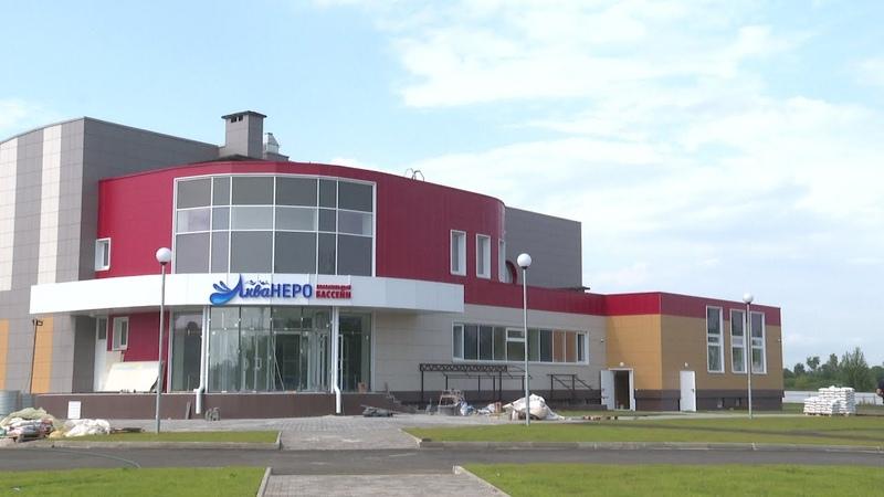 В Ростове совсем скоро откроется единственный в районе бассейн
