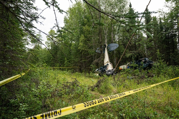 Семь человек погибли при столкновении двух самолетов. Трагедия...