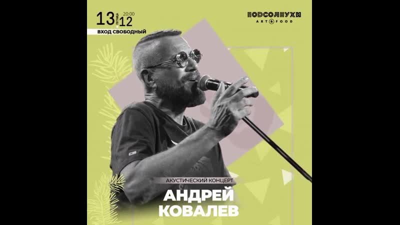 Акустическуий концерт Андрея Ковалева