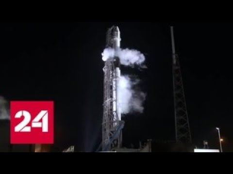 Самый сложный запуск ракеты Falcon Heavy отложен - Россия 24