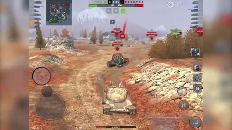 [CHUDO8585] Обзор первого итальянского танка Progetto 65 WoT Blitz с открытого теста.