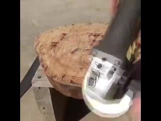 Реставрация старой табуретки