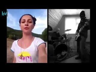 Три грузинские девушки из группы Trio Mandili спели песню, а парни из Норвегии создали кавер. И песня зазвучала по-новому