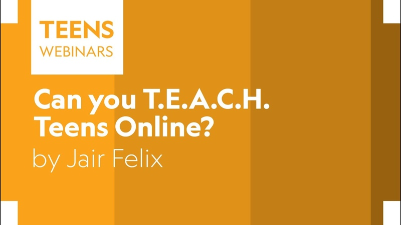 Can you T.E.A.C.H. Teens Online?