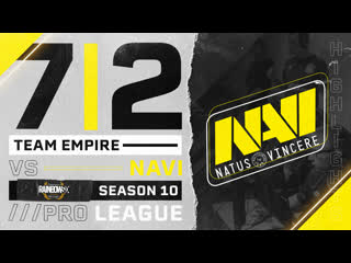 Team Empire vs NaVi  Pro League 10 Highlights