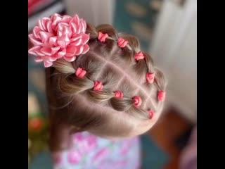 Маленькая принцесса  это красивые наряды, бантики, и, конечно же, косички