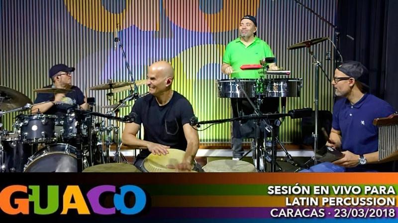 GUACO Sesión en vivo para Latin Percussion
