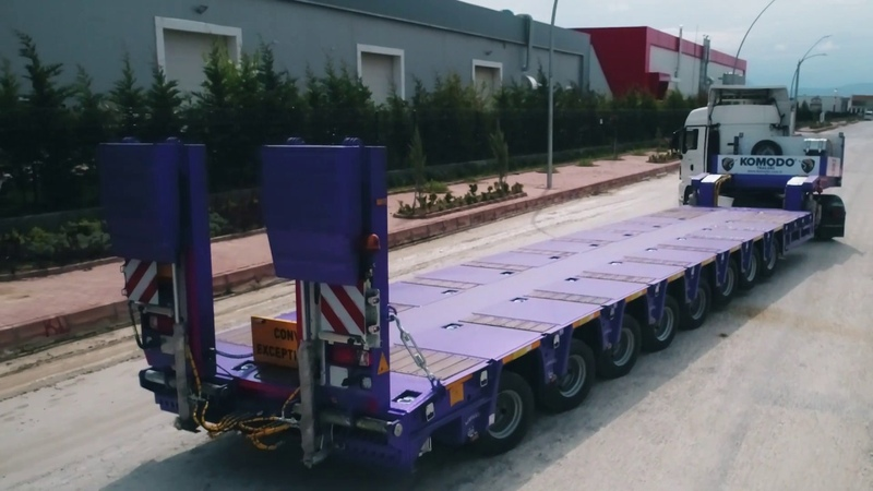 8 AXLES EXTENDABLE HYDRAULIC STEERING NEW GENERATION