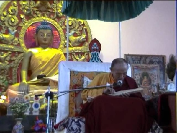 Very Precious Teaching Parting from the Four Attachments by Chogye Trichen Rinpoche Part 1