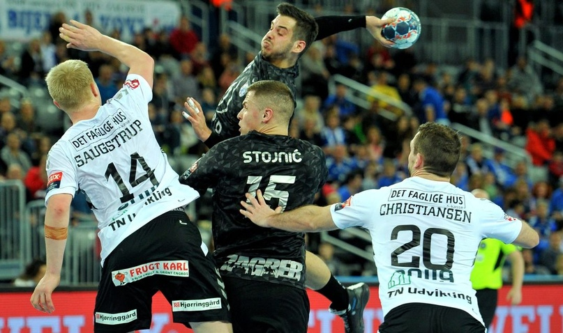 """Лига чемпионов. """"Загреб"""" остался в игре. Три гола за 18 финишных секунд!, изображение №1"""