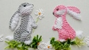 Bunny 3D Embroidery | Sweet couple| Buttonhole Filling