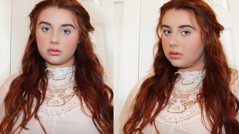 Winnie Foster from Tuck Everlasting Hair Makeup Tutorial