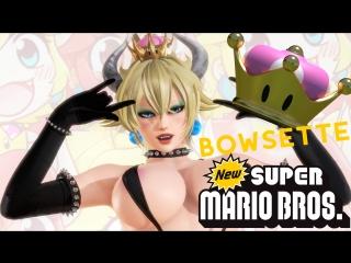 3D PORN Bowsette Futanari Sex Minet