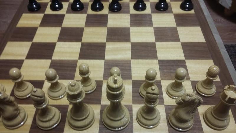 Шахматы Ферзь ловит ферзя Интересный дебют Атака на короля