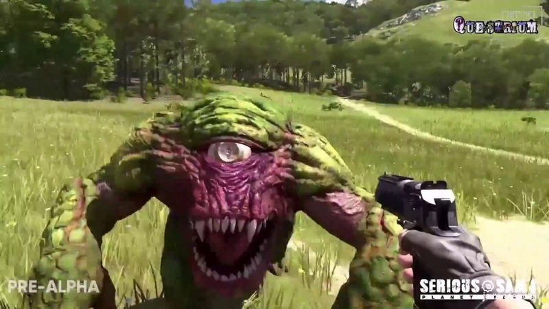 Serious Sam 4 Planet Badass First Great Gameplay video from the game