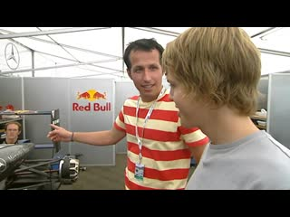 German educational program for kids with a young Sebastian Vettel