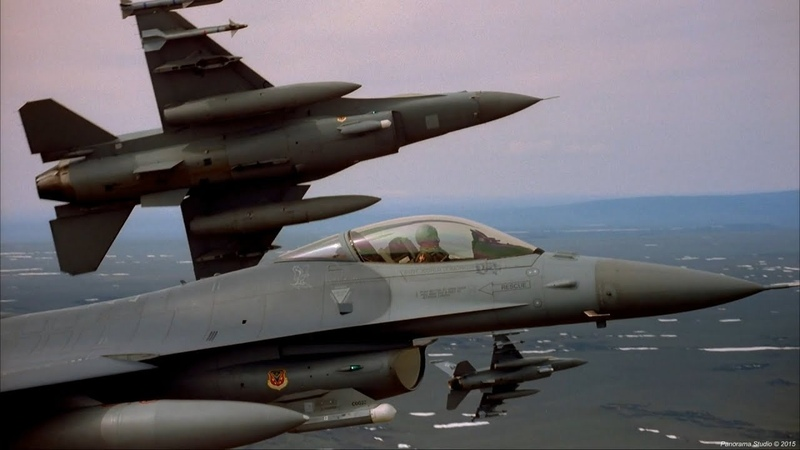 Red Flag Highlights F 15 vs F 16 Dogfights IMAX FHD